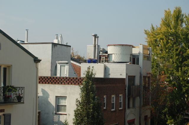 Center City, Philadelphia roof top